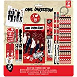 ONE DIRECTION 1D SUPER SCHOOL STATIONARY SET STATIONERY PENCIL CASE ACCESSORY