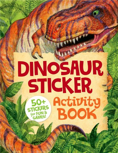 Peaceable Kingdom / Dinosaur Sticker Activity Book front-762310