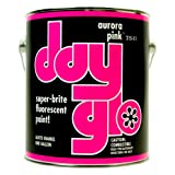 DayGlo Fluorescent Solvent-Based 215 Series Brushing Enamel Paint (Gallon, Aurora Pink, 215-11) (Color: Aurora Pink, Tamaño: Gallon)
