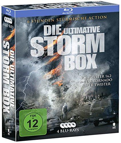 Die ultimative Storm Box - Limitiertes Boxset mit 4 Tornado-Highlights (exklusiv bei Amazon.de) (4 Blu-rays)