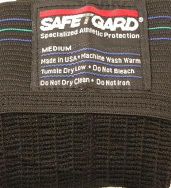 Safe-T-Gard Jock Strap Athletic Supporter - Black by Safe-T-Gard