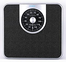 Venus 972 Personal Analog Manual Weight Machine (Black/Silver)