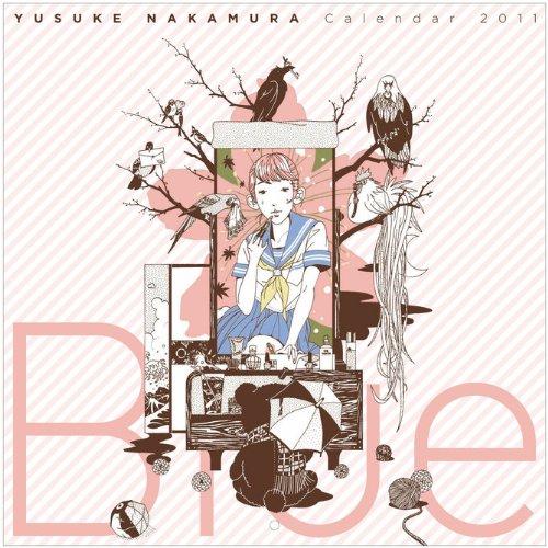 2011年版中村佑介カレンダー「Blue」