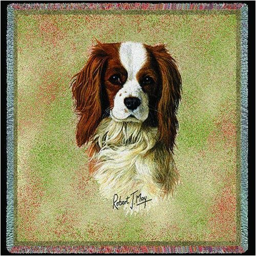 Pure Country 1180-Ls Boston Terr Brown Pet Blanket, Canine On Beige Background, 54 By 54-Inch