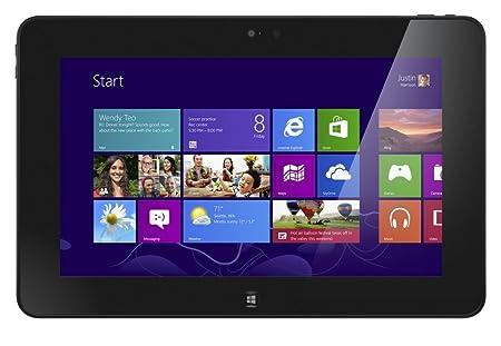 """DELL 10 Tablette Tactile 10.1 """" Intel Windows 8 Noir"""
