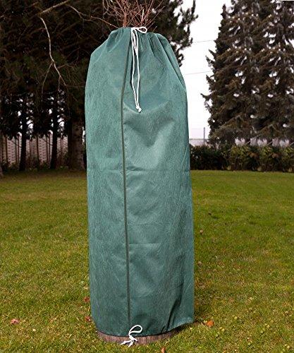 Frostschutzvlies Ø37,5x116cm Mantelvlies Winterschutz Frostschutz Pflanzenkübel