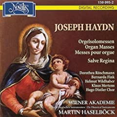 Haydn: Organ Masses, 'Salve Regina'