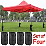 Popamazing Set of 4 - Gazebo Weighted...