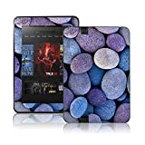 TaylorHe Colourful Decal Vinyl Skin for Amazon Kindle Fire HD Ultra-slim protection with pretty patterns MADE IN BRITAIN Blue Pebbles