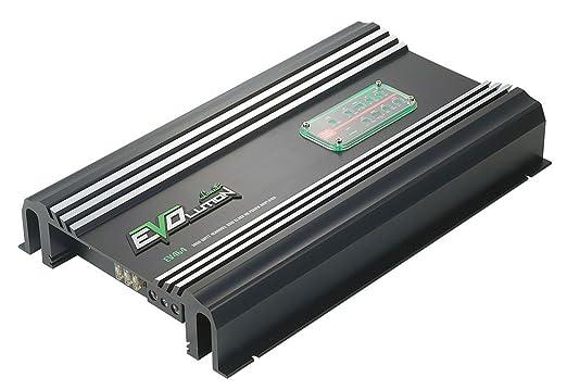 Lanzar EV464 Amplificateur Darlington avec 4 canaux SMD Classe AB 600 W Noir