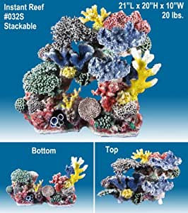 Share facebook twitter pinterest qty 1 2 3 4 5 6 for Artificial coral reef aquarium decoration uk