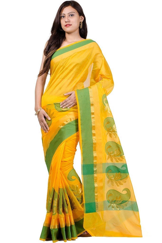 Women's Cotton Chanderi Saree