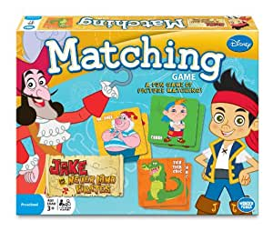 Jake and the Never Land Pirates Matching Game