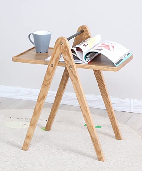 Mesa de centro de los muebles de madera sólida Modern simplicity Living Room Furniture Color madera, 450 * 350 * 600mm