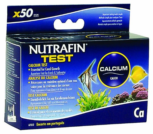 Nutrafin Calcium Test for Fresh and Saltwater (Calcium Test Kit Fresh Water compare prices)