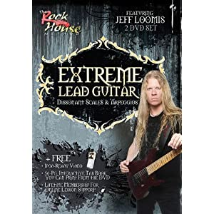 The Rock House Method Jeff Loomis Extreme Lead Guitar for Mac and PC NTSC Disk 2 Tutorial (1 dvd)