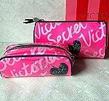 Lovely Pink Pvc Women Makeup Bag,fashion Vs Secret Protable Cosmetic Bags (color1)