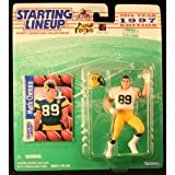 MARK CHMURA / GREEN BAY PACKERS 1997 NFL Starting Lineup Action Figure & Exclusive NFL Collector Trading Card ~ Starting Line Up