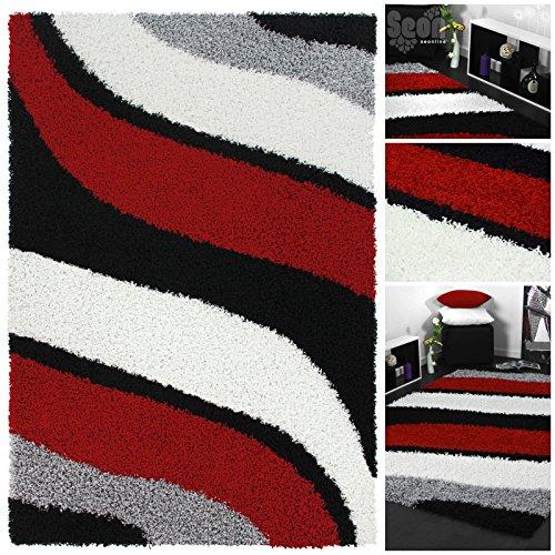 Teppich hochflor schwarz weiß »–› PreisSuchmaschinede