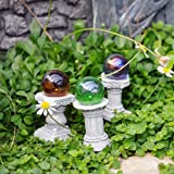 Fairy Garden Mini Gazing Globes, Set of 3