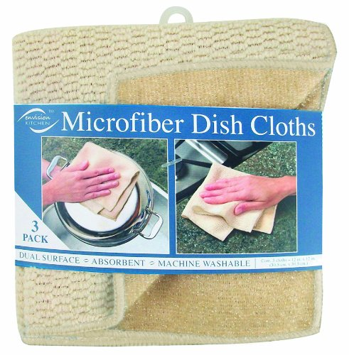 Envision Home 3-Pack Microfiber Dual Surface