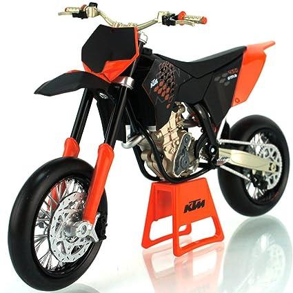 KTM 450 SX-F moto en alliage modele de jouets Vehicule Miniature Echelle 1/12 (SMR-09)
