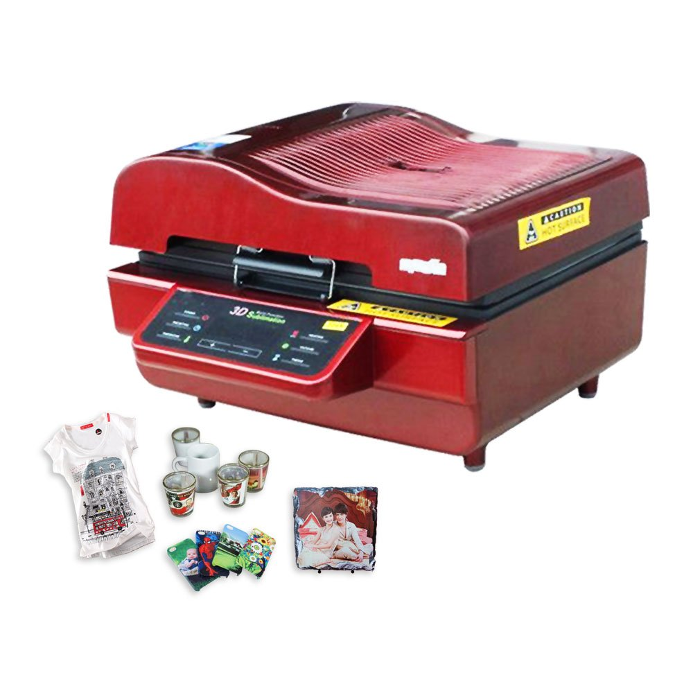 US Stock-Ving 3D Sublimation Heat Press Machine for Phone Cases Mugs Cups Heat Transfer Printing (110V)