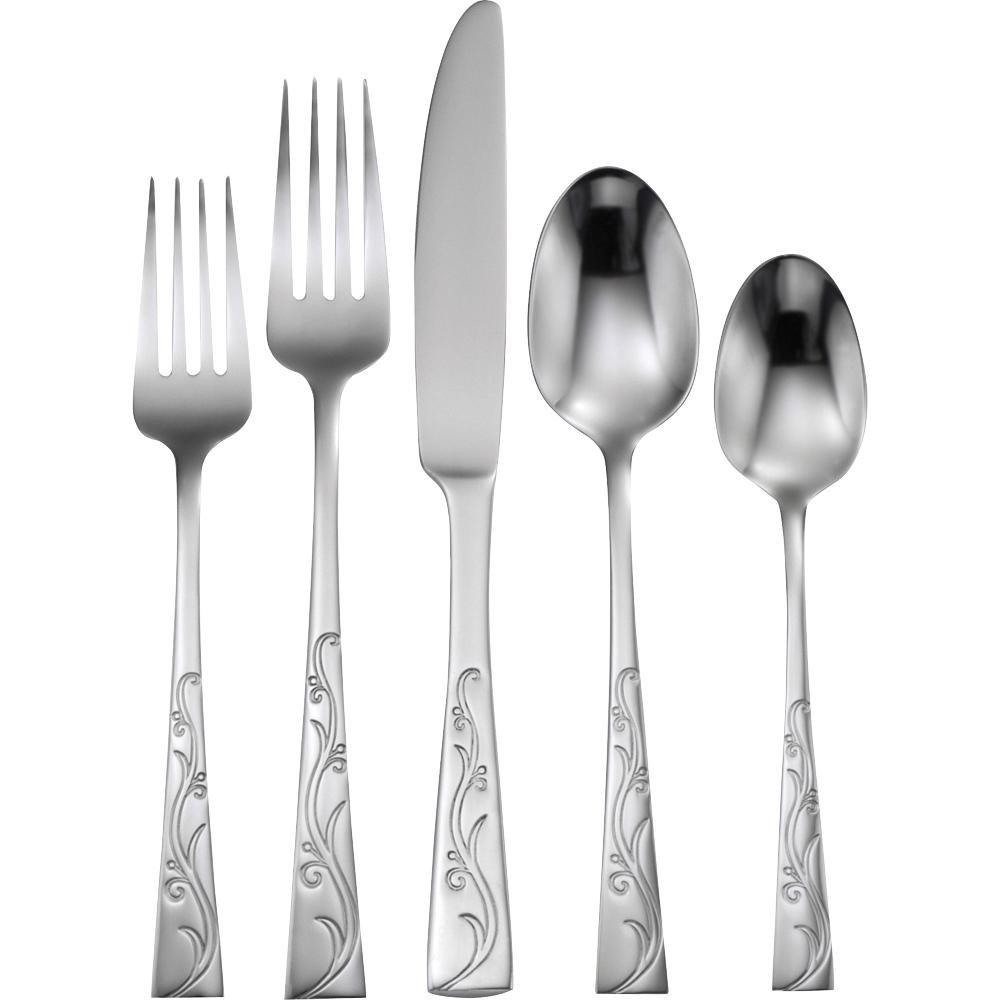 Anchor Hocking Alyssia 20pc Flatware Set Cookware