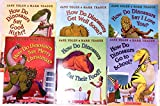 img - for How Do Dinosaurs Set of 6 Books: Say Merry Christmas, Say Good Night, Get Well Soon, Eat Their Food, Says I Love You, Go to School book / textbook / text book