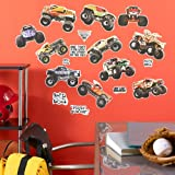 Monster Jam Removable Wall Decorations