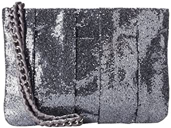 BCBGeneration Women's Gemma Wristlet,Charcoal,One Size