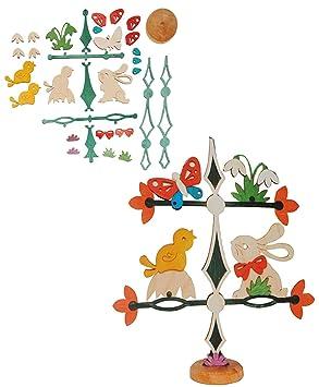 holz bastelset friesenbaum baum dekobaum osterhase mit. Black Bedroom Furniture Sets. Home Design Ideas