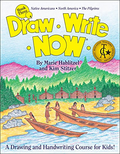 Draw Write Now Book 3: Native Americans, North America, Pilgrims (Draw Write Now 4 compare prices)
