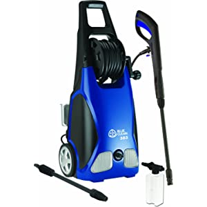 AR Blue Clean AR383 1.5 GPM Electric Pressure Washer with Hose Reel, 1,900 PSI