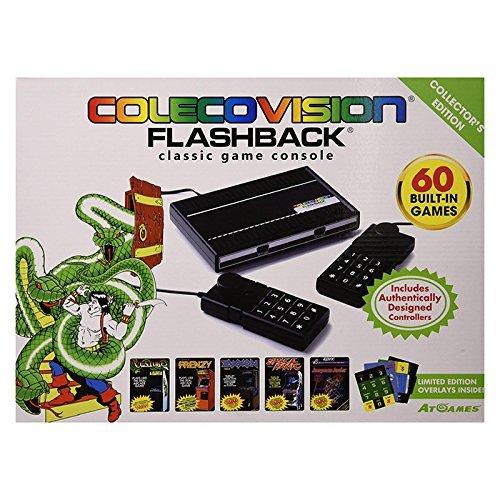 Flashback Giochi classici Console ColecoVision con costruito in giochi - Edizione da collezione