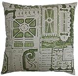 Van Ness Studio Jardin Decorative Throw Pillow, Green
