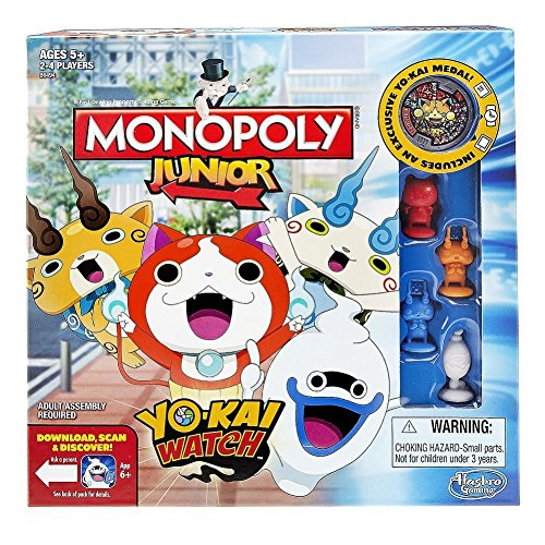 Monopoly – Junior yokai watch (Hasbro B6494105)