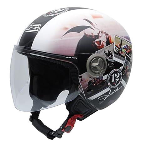 NZI 050332G909_XS Hélix Iv Angel Nieto 12 plus 1 Ran Casque de Moto, Taille XS