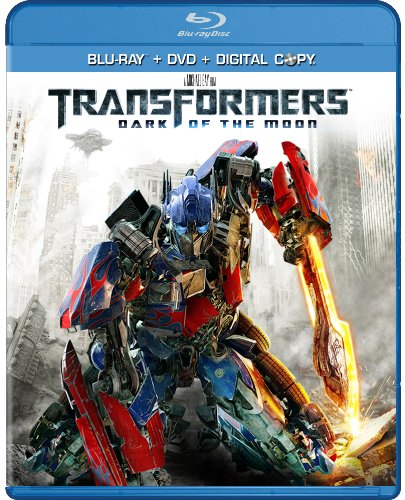 Cover art for  Transformers: Dark of the Moon (Two-Disc Blu-ray/DVD Combo)