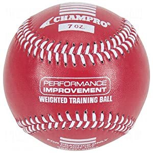 Champro Training Baseballs, Set of 6 (Red Maroon Green Yellow Blue Black, 9-Inch) by Champro