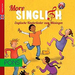 PONS More Singlish. Englische Kinderlieder Hörbuch
