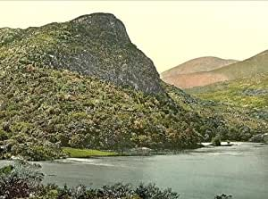 Vintage Travel Poster - Eagle's Nest Mountain Killarney. County Kerry Ireland...