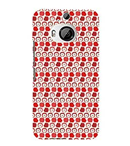 EPICCASE cheeky apple Mobile Back Case Cover For HTC One M9 Plus (Designer Case)