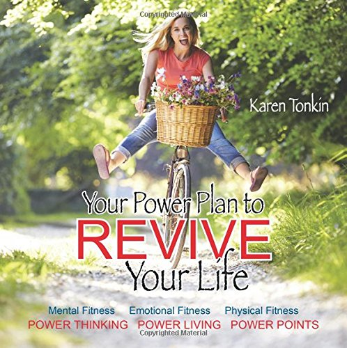 Your Power Plan To Revive Your Life: Mental Fitness, Emotional Fitness, Physical Fitness, Power Thinking, Power Living, Power Points front-713000