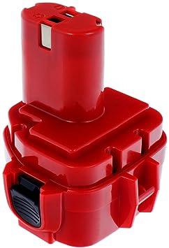 MTEC Ersatz Akku Batterie 12V 2,0Ah für Makita 6211D 6213D 6214D 6216D 6217D