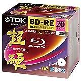 TDK 録画用 BD-RE DL 1-2倍速 50GB 20枚【インクジェットプリンタ対応】KBEV50HCPWA-20B