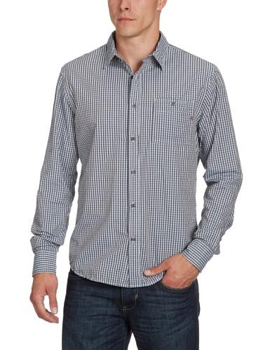 Replay Men's M4799 .000.51058 Casual Shirt Blue (Check Blue 010) 50
