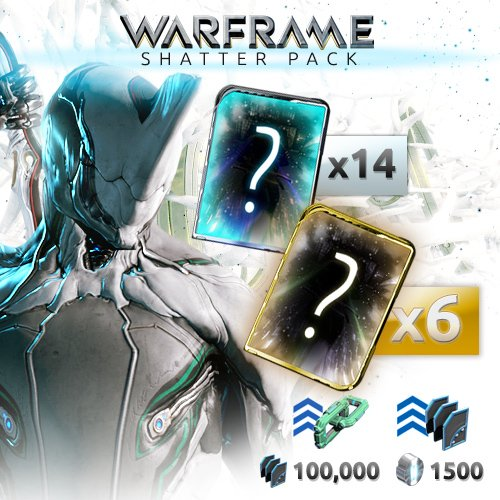 Warframe Shatter Pack [Online Game Code]