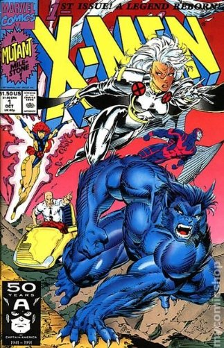 Marvel Comics; X-Men [A Mutant Mile Stone]; Stan Lee Presents X Men; Rubicon; Vol. 1, No. 1, October 1991 (1st Issue. A Legend Reborn) (Comic Books Marvel Storm 1 compare prices)