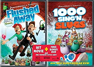 flushed away amp 1000 singing slugs dvd region 1 us import